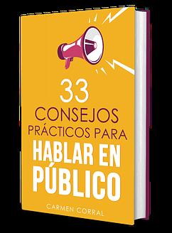 33 consejos para hablar en publico